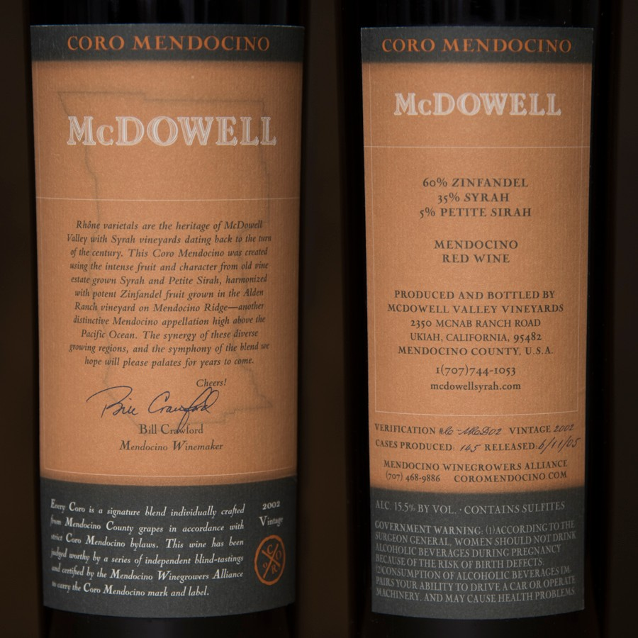 2002 McDowell Valley Vineyards 750ml