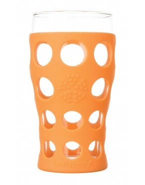 Lifefactory Beverage Glasses - Orange