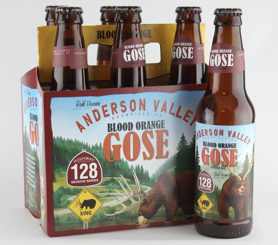 Anderson Valley Blood Orange Gose 6pack