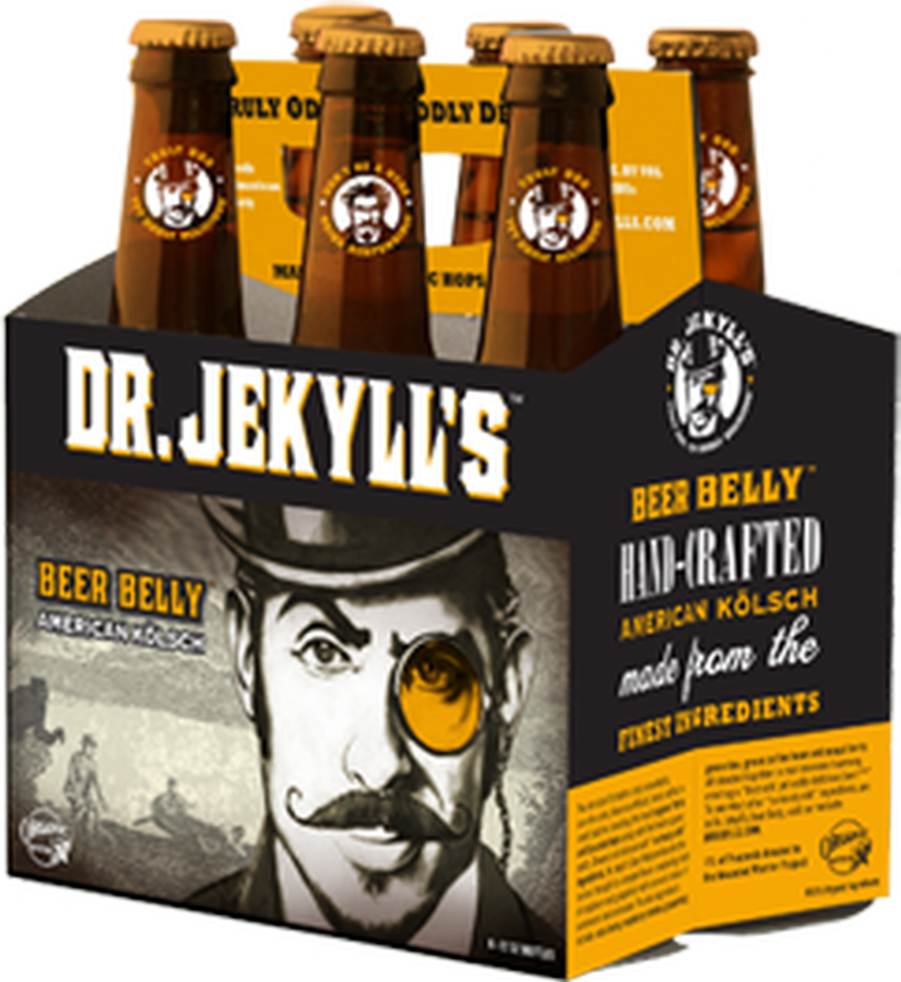 Dr. Jekyll's Beer Belly American Kölsch 6-pack