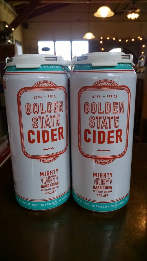 Golden State Cider Mighty Dry 4pack