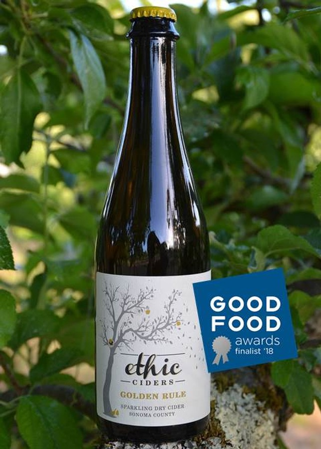 Ethic Ciders Golden Rule (sparkling dry)