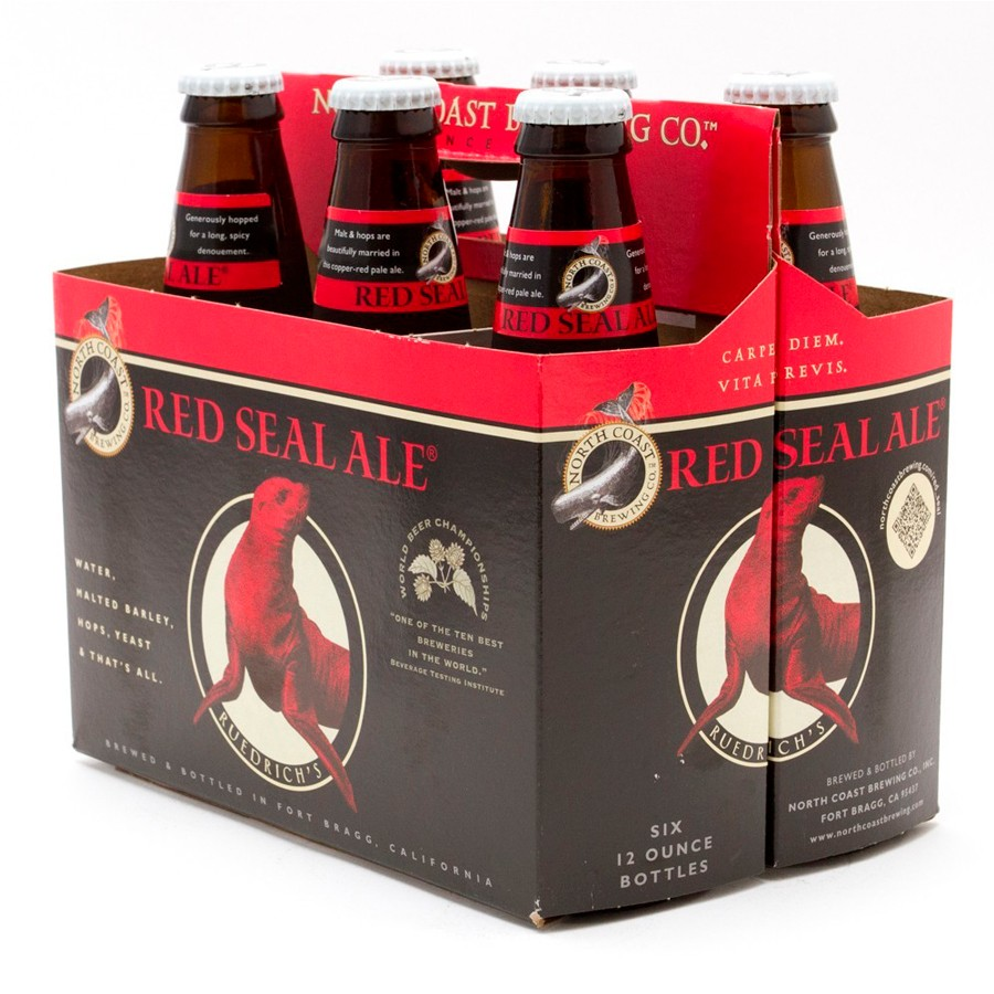North coast Brewing Red Seal Ale (6-pack)