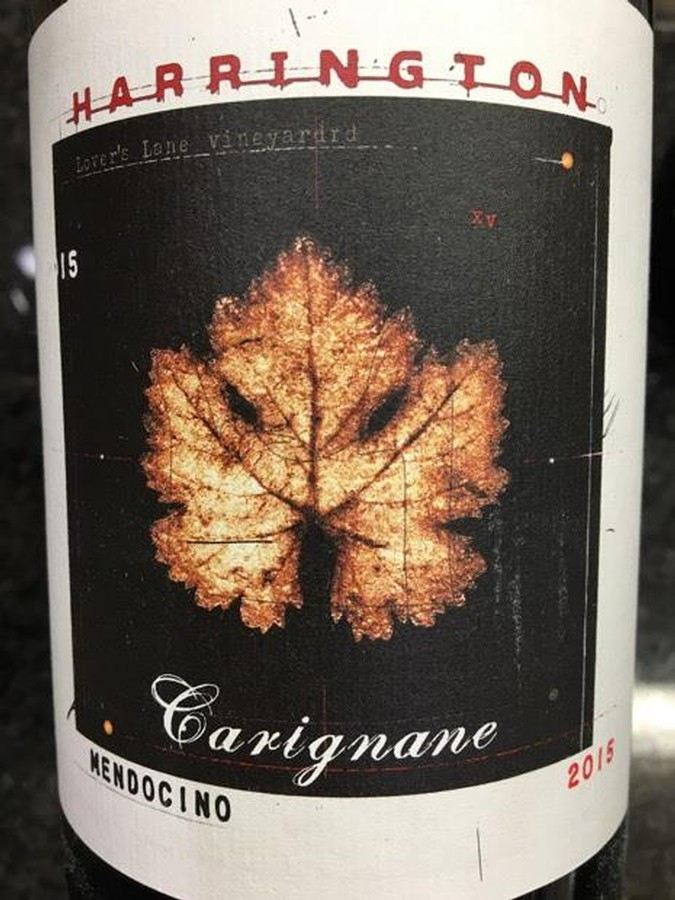 Harrington 2015 Carignane Image