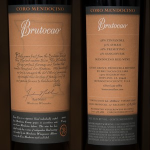 2002 Brutocao Cellars 750ml