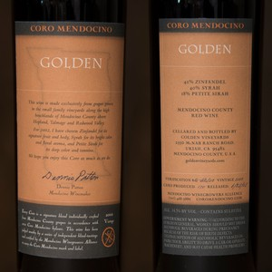 2002 Golden Vineyards 750ml