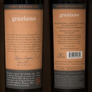 2002 Graziano Family Wines 750ml