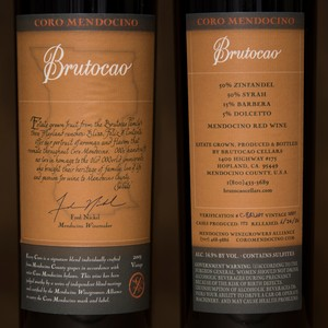 2003 Brutocao Cellars 750ml