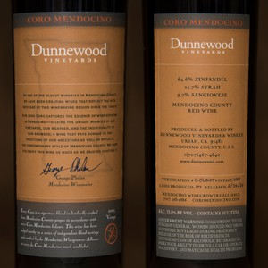 2003 Dunnewood Vineyards Magnum