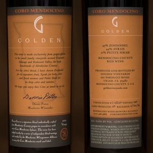 2003 Golden Vineyards 750ml