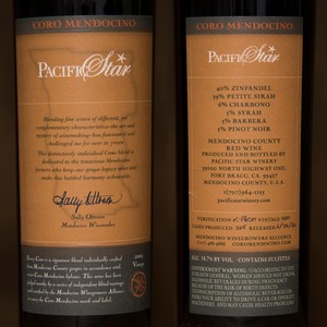 2003 Pacific Star Winery 750ml