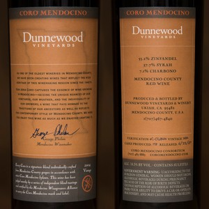 2004 Dunnewood Vineyards Magnum