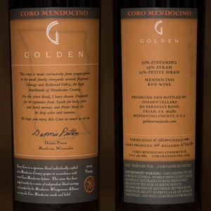 2004 Golden Vineyards Magnum