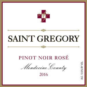 Saint Gregory 2016 Pinot Noir Rose