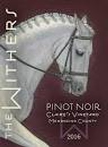 The Withers 2016 Pinot Noir Claire's Vineyard