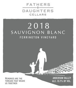 Fathers and Daughters 2018 Sauvignon Blanc
